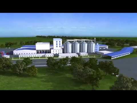 Muyang Feed Mill 3D Video of Assembly and Operation