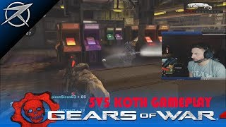 5V5 KOTH GEARS OF WAR 2 on DAY ONE INSANE (STREAM HIGHLIGHTS)