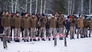 Zemessardzes 52. kaujas atbalsta batalj. un Jaunsardzes svin. zvēr. un svin. solīj. došana 12.01.19