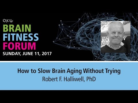 JCCSF Brain Fitness Forum with Robert Halliwell