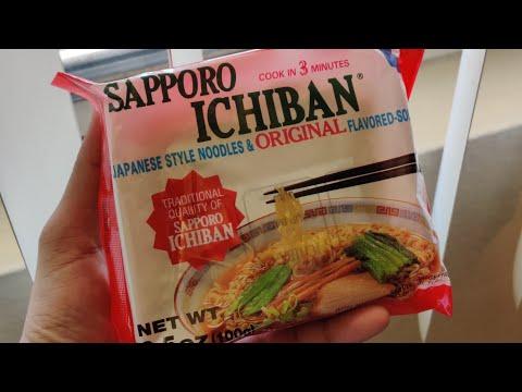 Sapporo Ichiban Japanese Style ORIGINAL Flavored Ramen Noodle Soup