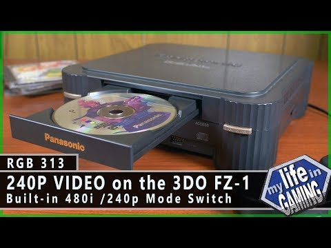 RGB313 :: 240p Video on the Panasonic 3DO FZ-1 without a Mod - MY LIFE IN GAMING