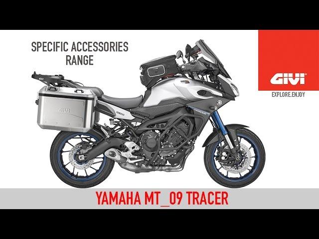 Givi Yamaha Mt09 Tracer Youtube