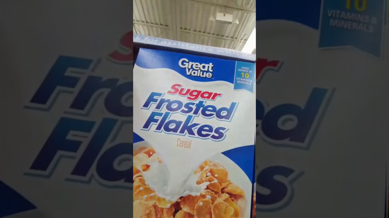 name brand vs generic cereal youtube