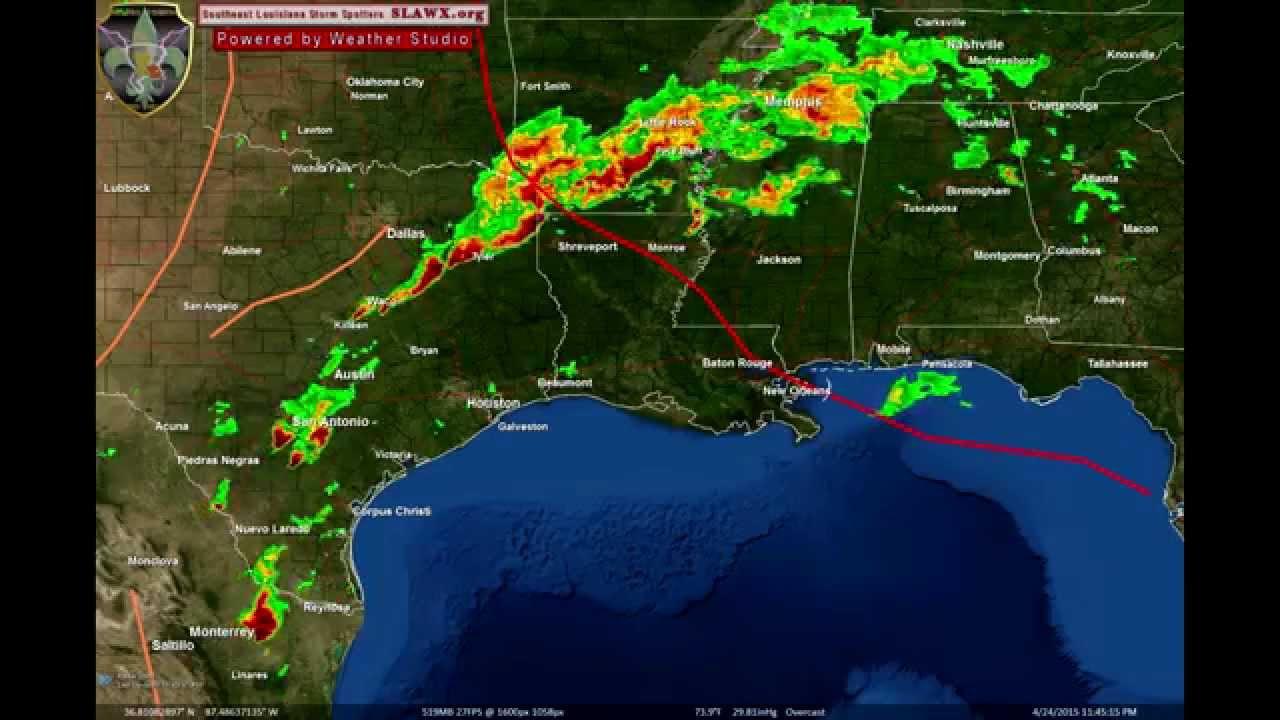 Hrs  Radar Loop YouTube - Us weather radar map loop