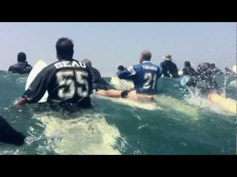 #55 Junior Seau Memorial Paddle Out Oceanside CA