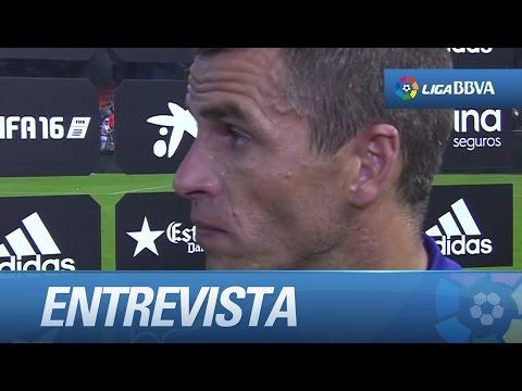 Entrevista a Duda tras el Valencia CF (3-0) Málaga CF