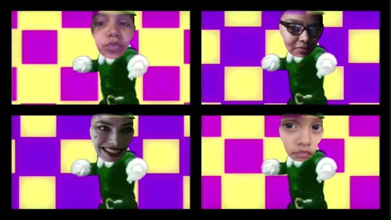 Elf yourself Music videos 80's