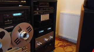 Testing cassette recorded on Pioneer CT S830S