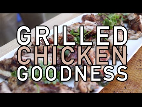 Fastest Grilled Chicken Tutorial (Cilantro Lime Recipe)- BenjiManTV thumbnail
