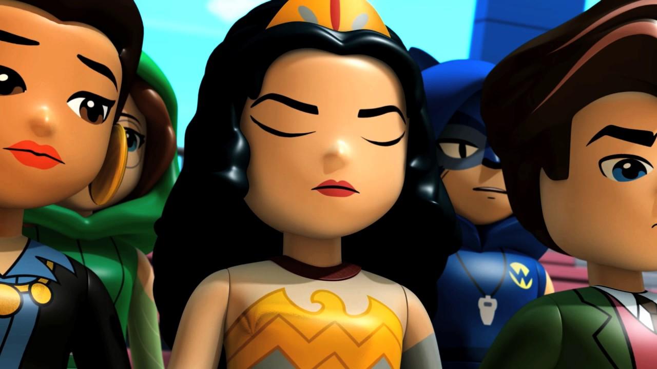 Lego dc super hero girls galactic wonder 1 st youtube for Galactic wonder