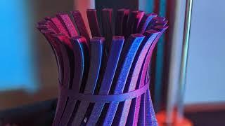 Geeky Faye Art's Twisty Vase - MyMiniFactory 3D Print Highlight