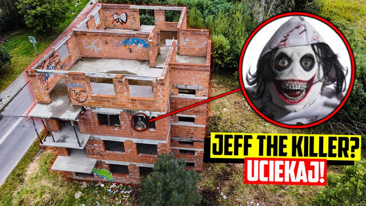MÓJ DRON UCHWYCIŁ JEFF THE KILLER W JEGO KRYJÓWCE!! (NIE UWIERZYSZ W TO!)