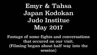 Go Pro - At The KODOKAN - Japan - Judo - May 2017