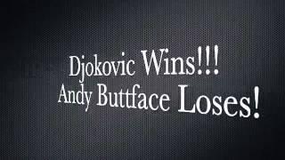 Lego Wimbledon: Murray vs. Djokovic