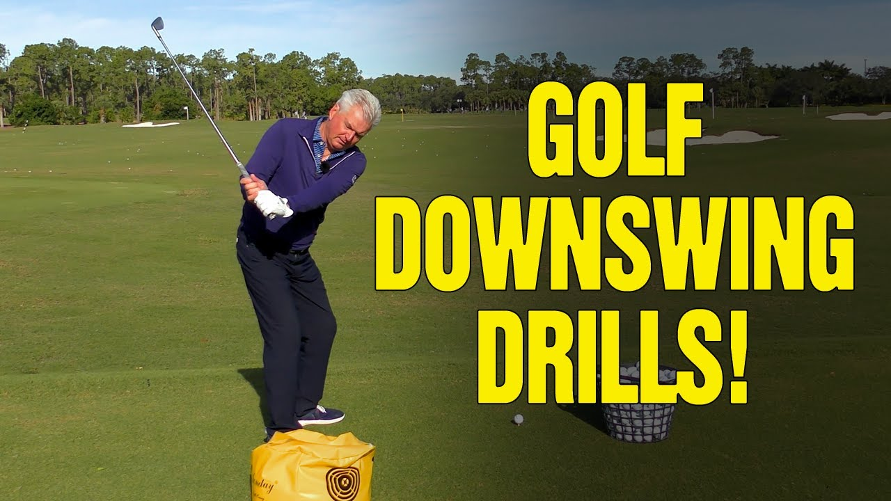 My 3 BEST Golf Downswing Drills [FIX YOUR SWING FAULTS!!]