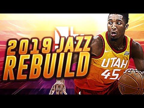BLOCKBUSTER TRADE! 2019 UTAH JAZZ REBUILD! NBA 2K18