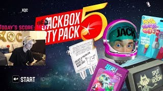 xQc Plays The Jackbox Party Pack 5 with Adept, Moxy, and Viewers | with Chat