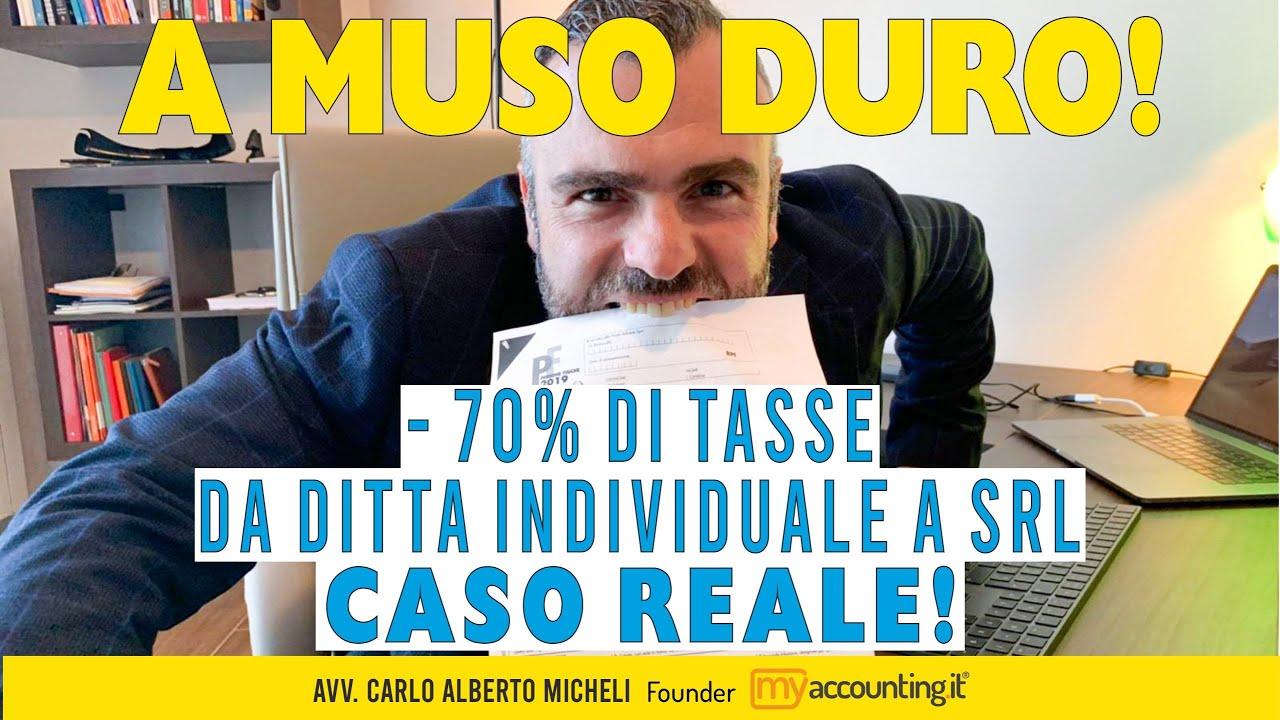 Download A MUSO DURO! -70% di Tasse da Ditta Individuale a SRL - CASO REALE!