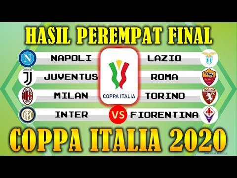 Hasil Coppa Italia 2020 Lengkap Jadwal Perempat Final COPPA ITALIA 2020
