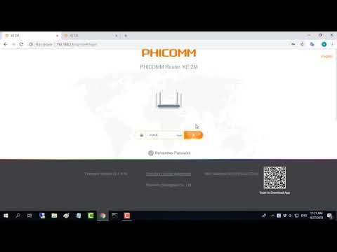 Hướng Dẫn đỗi Mật Khẩu Wifi PHICOMM KE 2M
