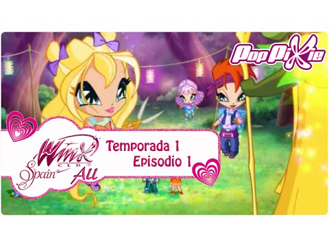 Pop Pixie - Temporada 1 Episodio 1 - El Ataque Verde - COMPLETO