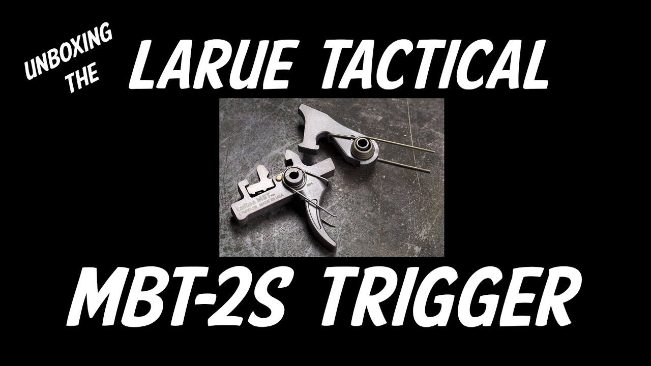9a46467c97fb LaRue Tactical MBT-2S Two-Stage Trigger. AR15 Hunter