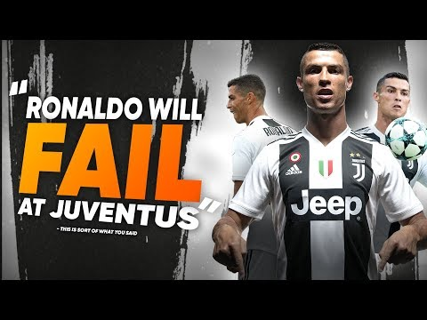 """""""Cristiano Ronaldo Will FAIL At Juventus"""" 