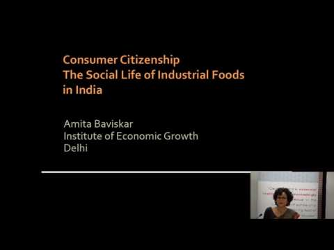 Consumer Citizenship: The Social Life of Industrial Foods in India, SOAS University of London