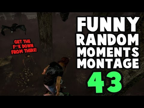 Dead by Daylight funny random moments montage 43