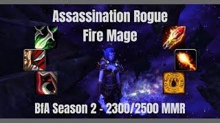 Rogue Mage Arenas - BfA Season 2 - WoW 8.1.5