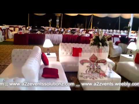 Walima double stage Farm House, best weddings planners pakistan a2z events solutions