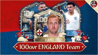 FIFA MOBILE WORLD CUP 100 OVR ENGLAND TEAM VS STOPDE