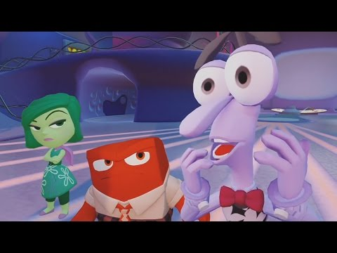 Inside Out Walkthrough Part 1 - FULL Inside Out Game Movie (Disney Infinity 3.0)