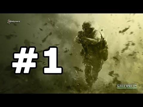 Call of Duty 4: Modern Warfare - Part 1 Walkthrough No Commentary