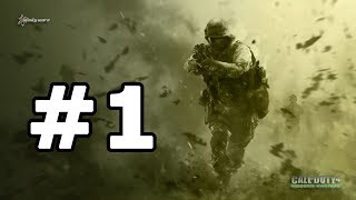 Call of Duty 4: Modern Warfare - Part 1 Walkthrough No Commentary