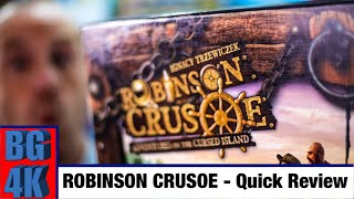 Robinson Crusoe Board Game Review - Still Worth It?