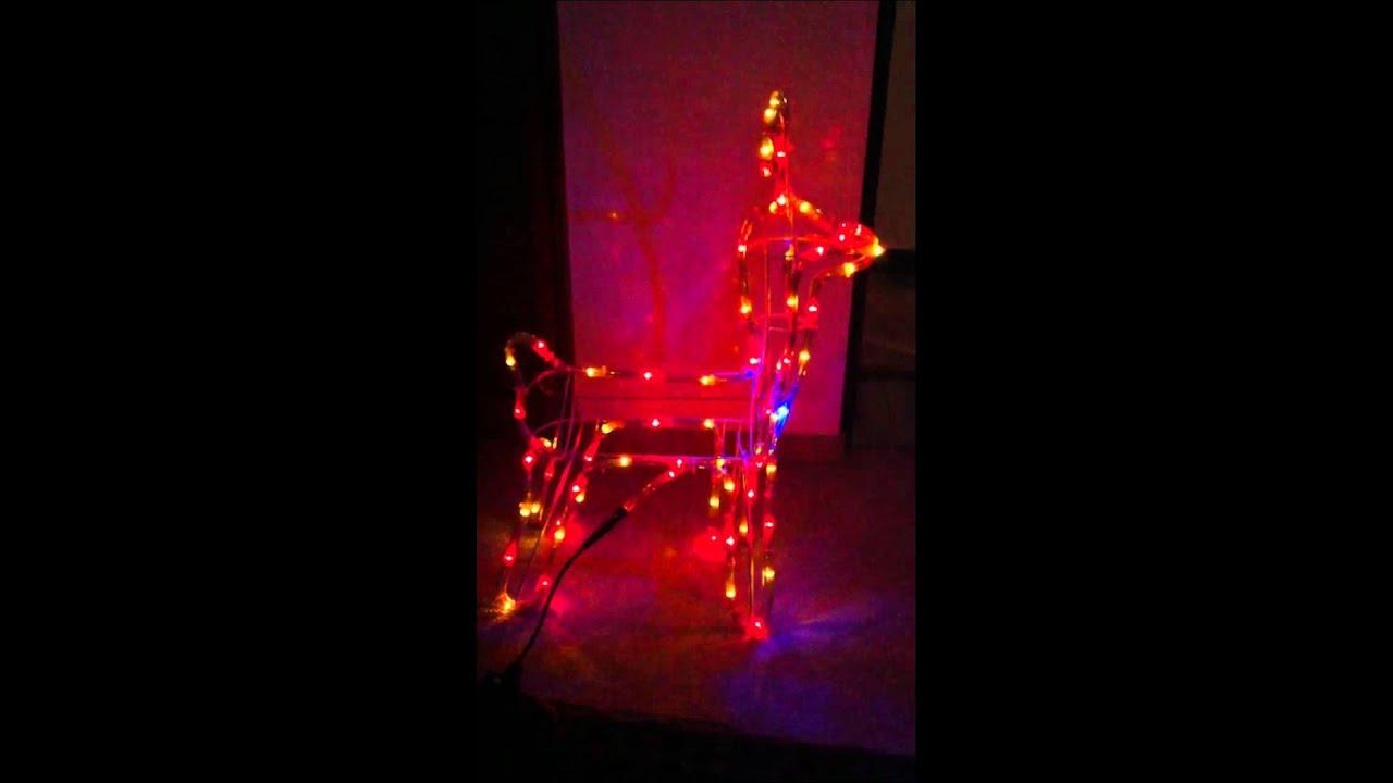 Como hacer renos de navidad con alambre my blog - Renos de navidad con luces ...