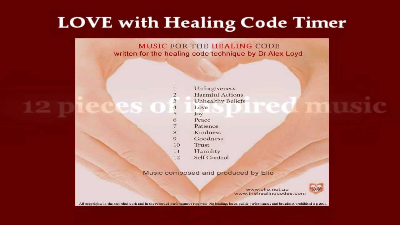 Official Healing Code Timer written for The Healing Code by Dr Alex Loyd