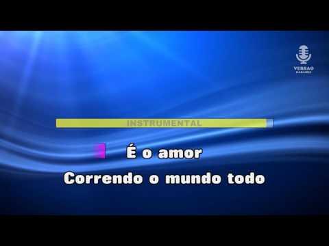 ♫ Karaoke JUNTOS SOMOS MAIS FORTES - Amor Electro
