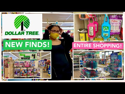 AMAZING FINDS @ DOLLAR TREE 🌲 STORE 😍 COME SHOP WITH ME !