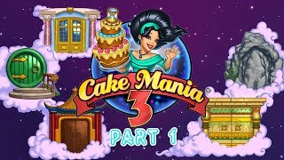 Cake Mania 3 - Gameplay Part 1 (Day 1 to 2) Le Boulangerie