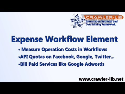 Social Media APIs and Cloud Service Operation Costs Measurement: Expense Workflow Element