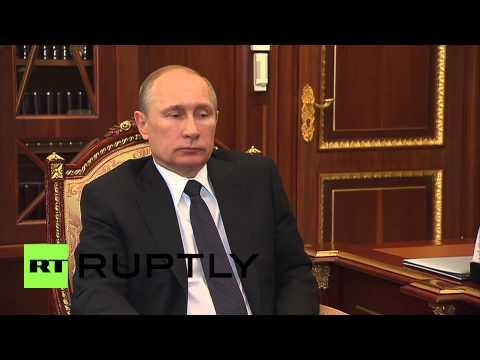 Russia: Putin meets Republic of Karelia governor to discuss economic growth