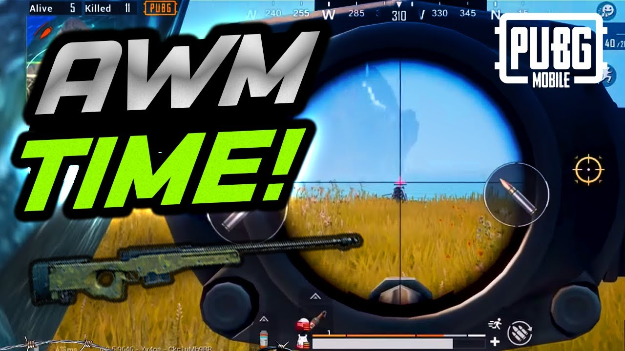 MY AWM. YOUR HEAD. PUBG Mobile