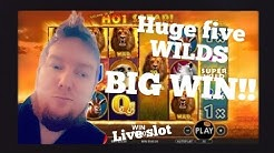 FIVE WILDS BIG WIN! 🔴 Live At 21 Dukes Casino #