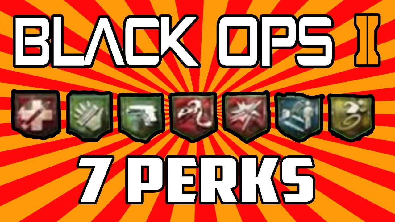 Black Ops 2 Zombies Buried: How To Get ALL 7 Perks By Round 1! How on