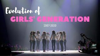 Evolution of Girls' Generation (SNSD) (2007-2020)