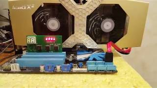 Замена GPU на видеокарте HIS Radeon R9 290. Производительность в майнинге.