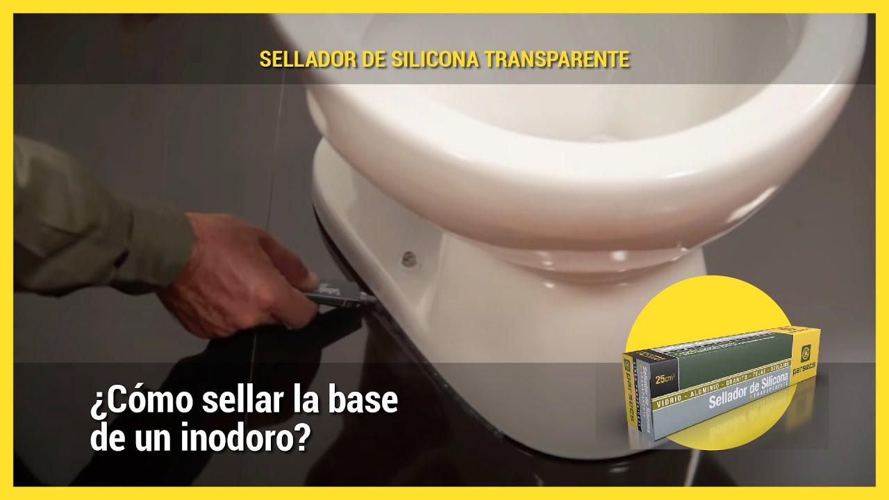 Aplicación Sellado De La Base De Un Inodoro Youtube